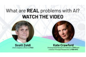 VIDEO: We are at a pivotal point in AI. How will data bias affect future decisions?