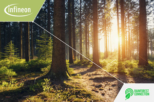 Infineon and Rainforest Connection create real-time wildfire monitoring system